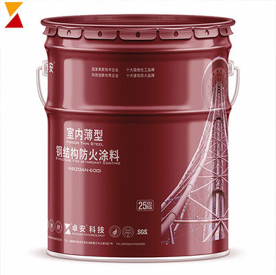 China Intumescent High Temperature White Spray Paint  For Steel Thin Type Indoor supplier