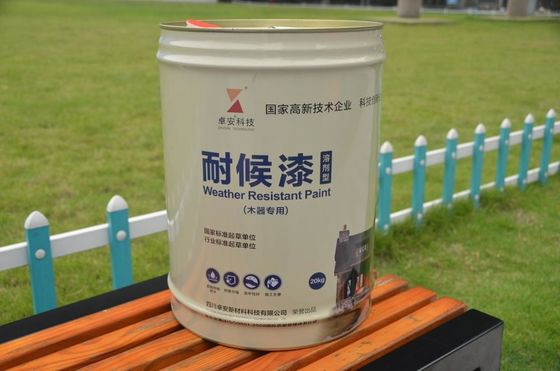 China Durable Waterproof  Dirt Resistant All Weather Exterior Paint  For Wood Decks Weatherproof supplier