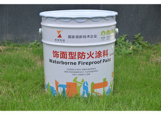 China 30 Minutes Fireproofing White Fire Retardant Paint For Plywood Walls OSB SPF supplier