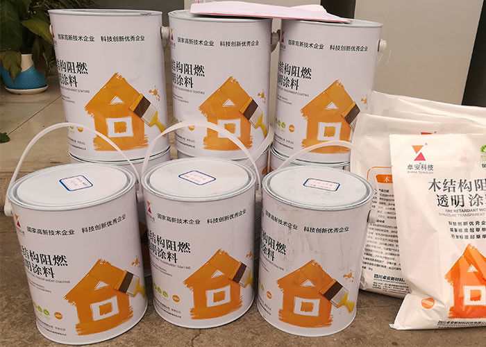 Non Toxic Intumescent Heat Resistant Interior Paint Fire Rating For Ceiling Odorless 20 Minutes & Non Toxic Intumescent Heat Resistant Interior Paint Fire Rating For ...
