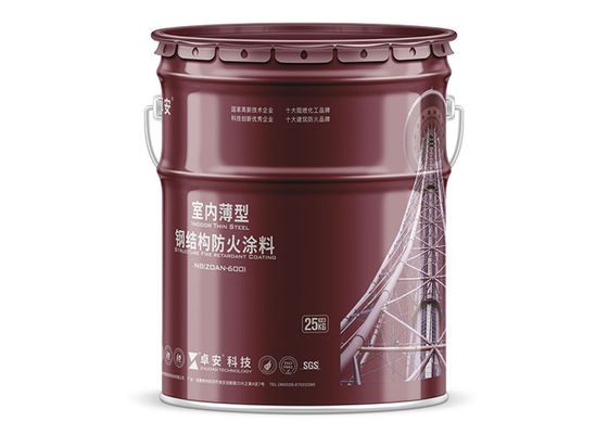 China  intumescent Fire Retardant Paint coating with UL test certification For Structural Steel  UL listed