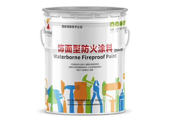 Fifteen Minutes Safe Intumescent Fire Rated Paint For Polywood Veneered Board 0.3mm