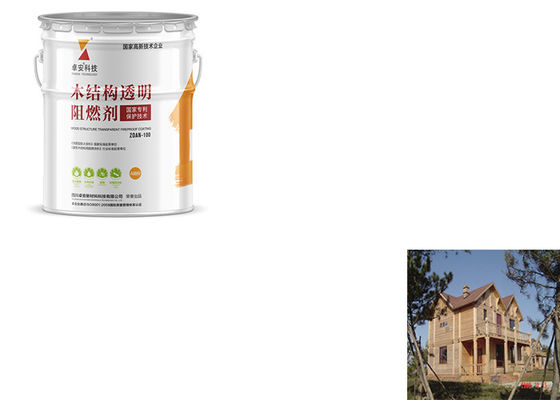 China Quick Dry Exterior Intumescent Fire Protective Coatings For Timber , Fire Retardant Liquid factory