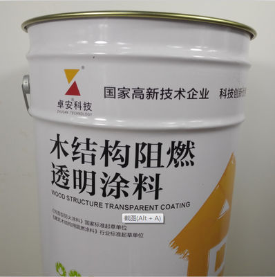 China Durable Intumescent Fire Protective Coatings , 30 Minutes Fireproof Varnish For Wood Walls factory