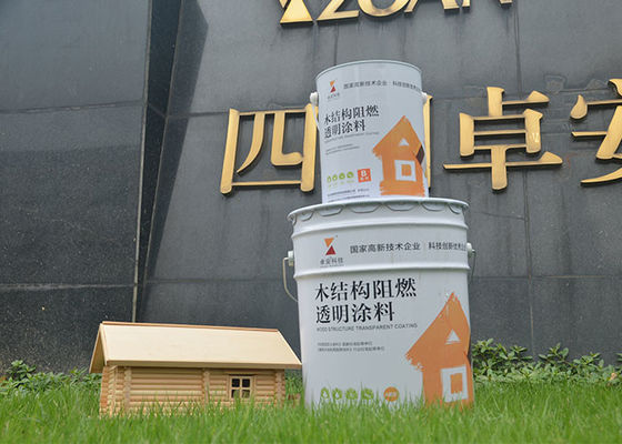 China Universal Protective Wood Intumescent Fire Protective Coatings , Fire Retardant Clear Varnish factory