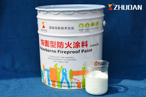 Interior Anti Fire Intumescent Fire Protective Coatings For Wood Furniture Painting